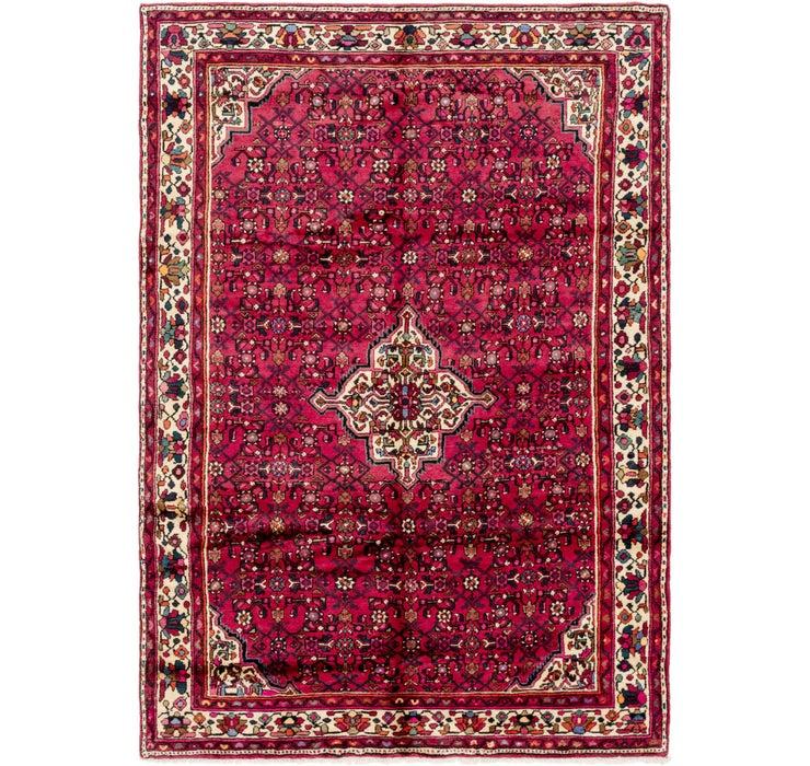 Image of 6' 9 x 9' 6 Hossainabad Persian Rug