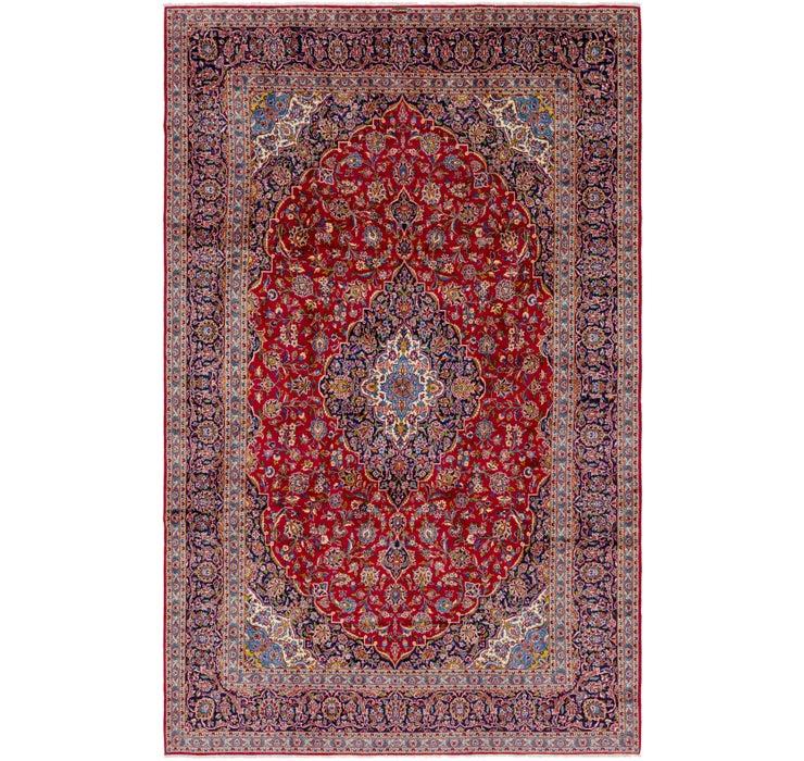 297cm x 488cm Kashan Persian Rug
