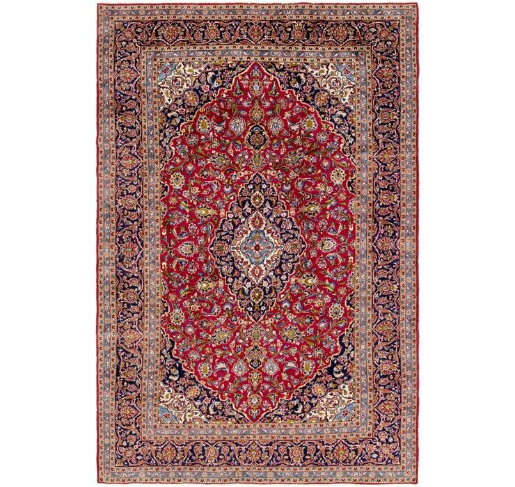 250cm x 375cm Kashan Persian Rug