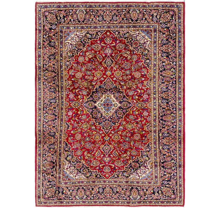 245cm x 340cm Mashad Persian Rug