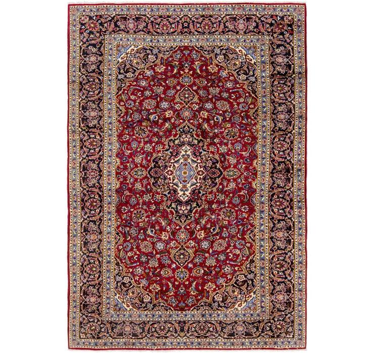 245cm x 373cm Kashan Persian Rug