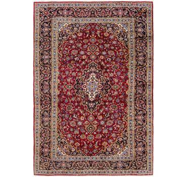 Image of 8' x 12' 3 Kashan Persian Rug