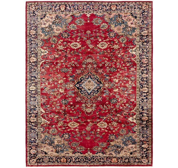 10' 2 x 13' 6 Hamedan Persian Rug