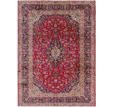 Image of 9' 10 x 13' Mashad Persian Rug