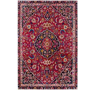 7' 9 x 11' 6 Mashad Persian Rug