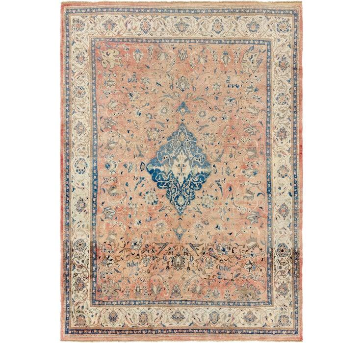 297cm x 420cm Mahal Persian Rug