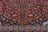 9' 10 x 13' 2 Kashan Persian Rug thumbnail