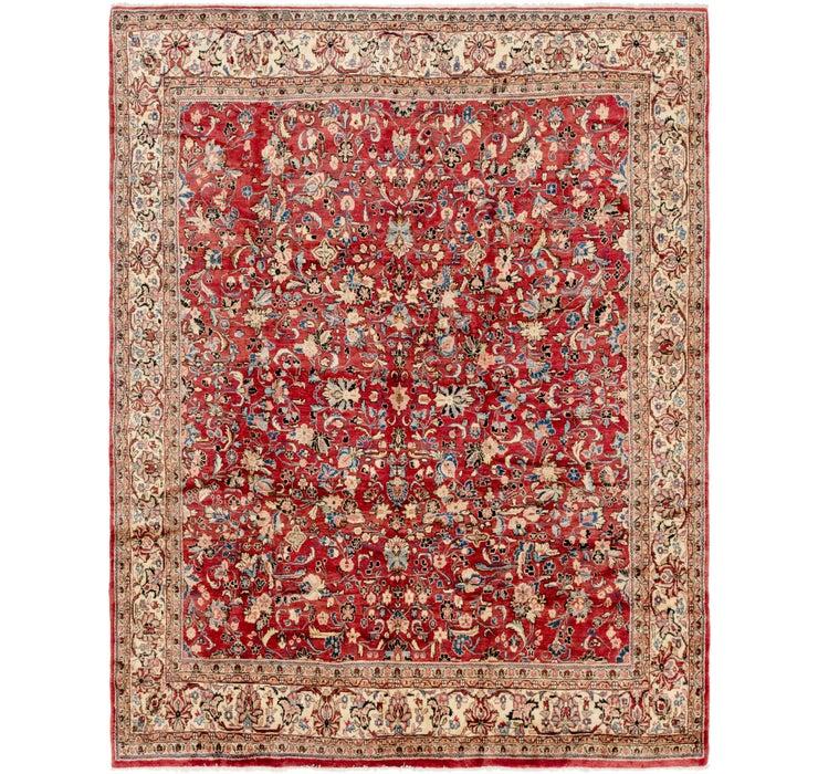 270cm x 348cm Meshkabad Persian Rug