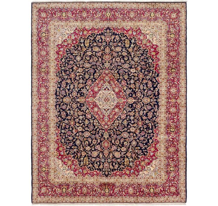 297cm x 385cm Kashan Persian Rug