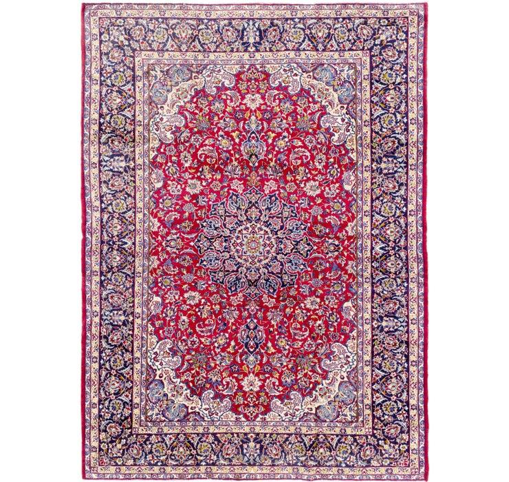 10' 2 x 13' 7 Isfahan Persian Rug