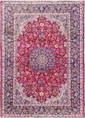 10' 2 x 13' 7 Isfahan Persian Rug thumbnail