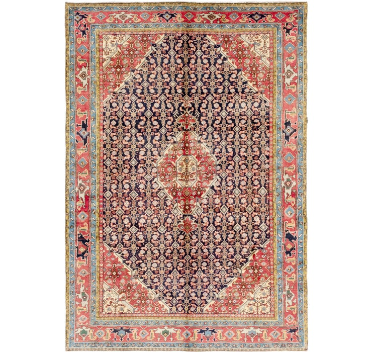 6' 5 x 9' Tabriz Persian Rug