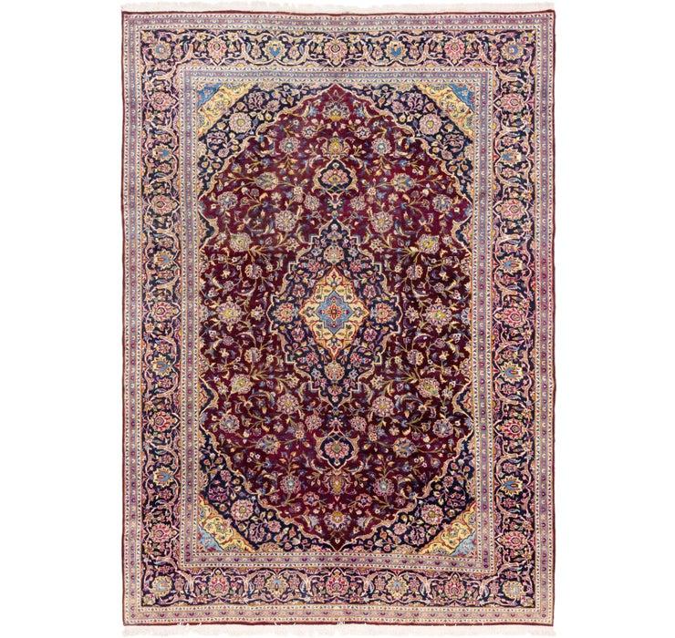 280cm x 410cm Kashan Persian Rug