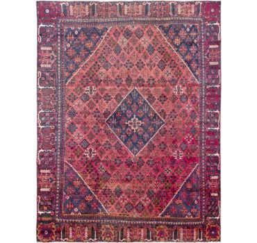 Image of 8' 7 x 11' 7 Joshaghan Persian Rug