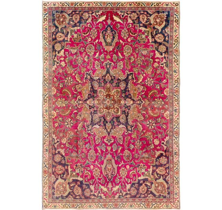 235cm x 353cm Mashad Persian Rug