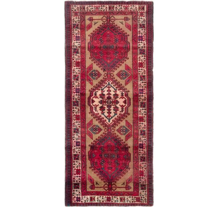 105cm x 245cm Meshkin Persian Rug