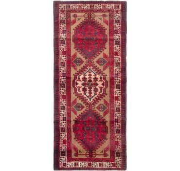 Image of 3' 5 x 8' Meshkin Persian Rug