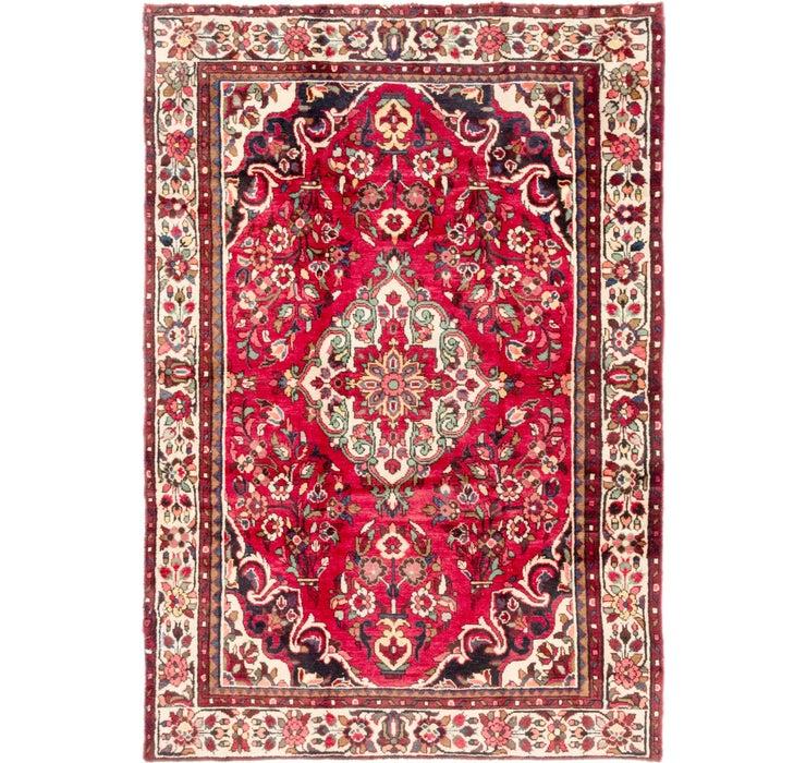 5' x 7' 4 Borchelu Persian Rug