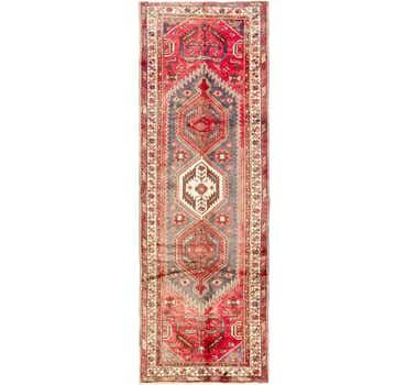 Image of 3' 4 x 10' Zanjan Persian Runner Rug