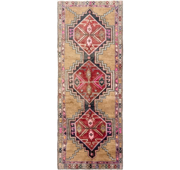 110cm x 290cm Shiraz Persian Runner Rug