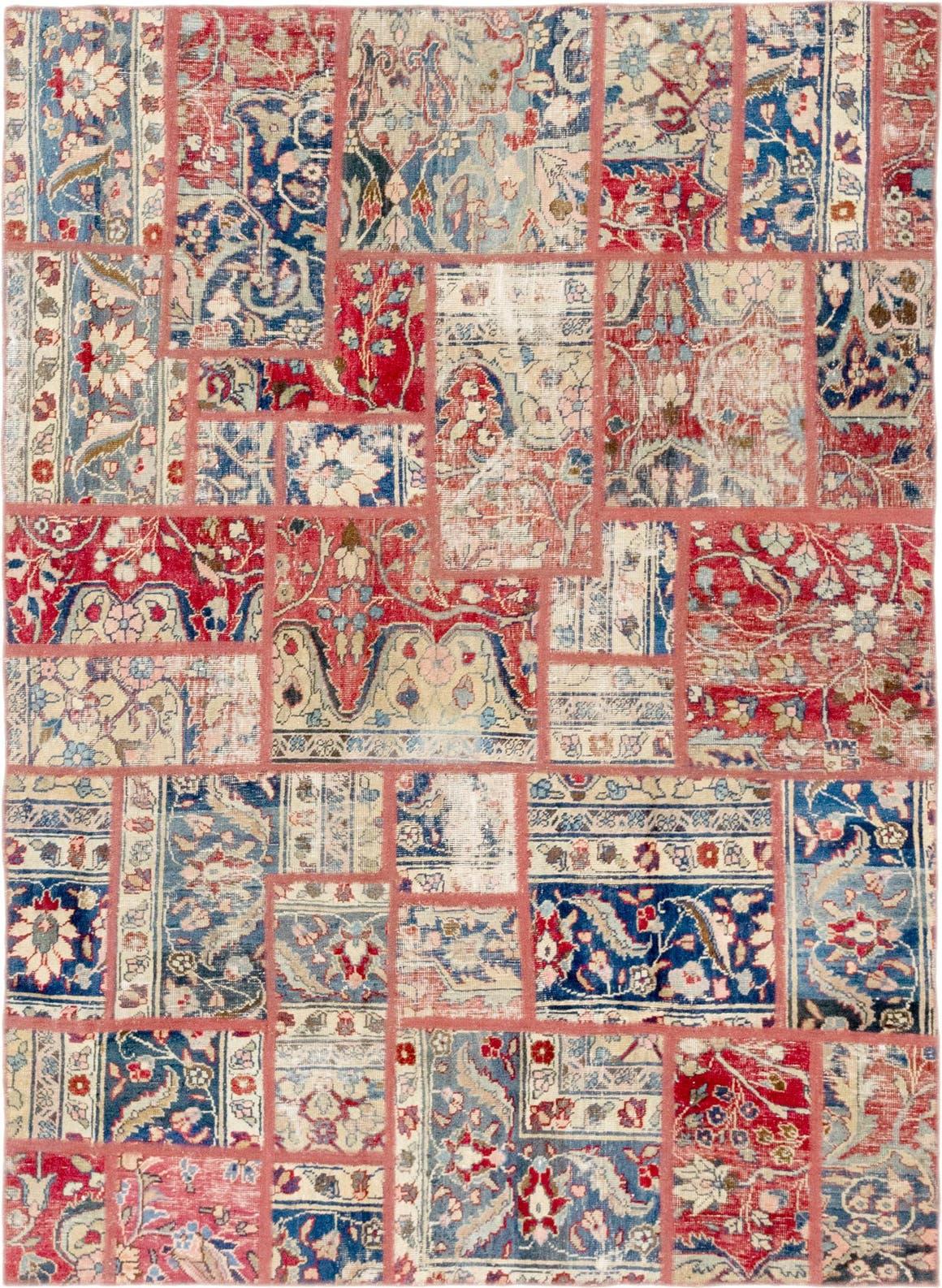 5' 7 x 7' 8 Ultra Vintage Persian Rug main image