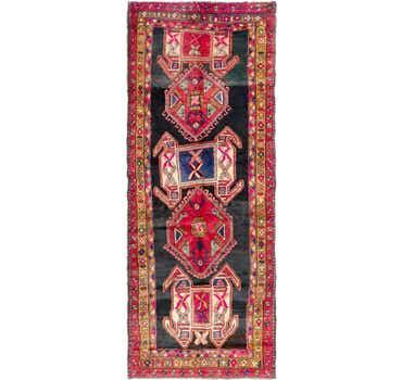 Image of 3' 8 x 9' 6 Meskin Persian Runner Rug