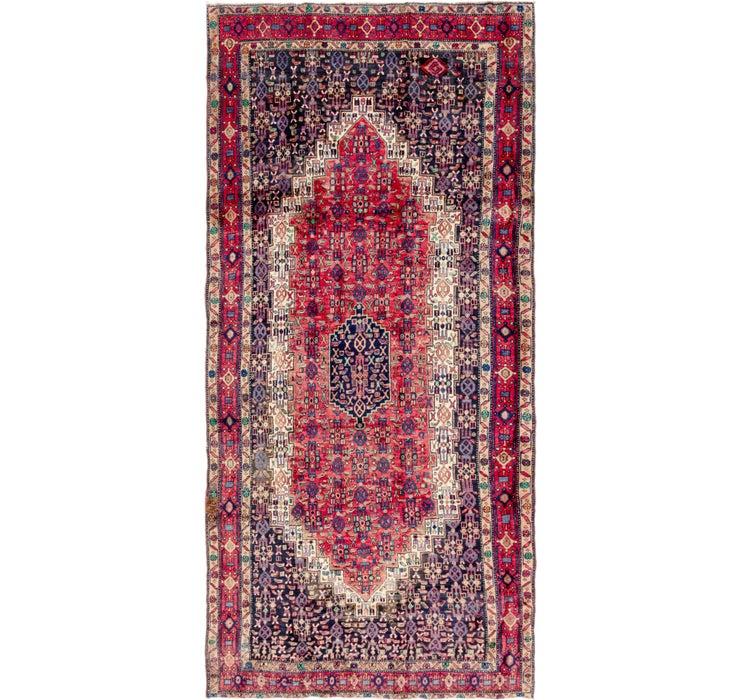 157cm x 330cm Sirjan Persian Runner Rug