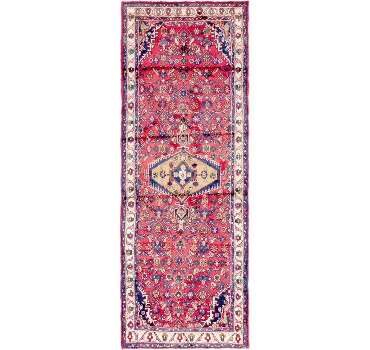 90cm x 250cm Hossainabad Persian Run...