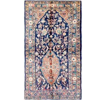 Image of 3' 6 x 6' 5 Farahan Persian Rug