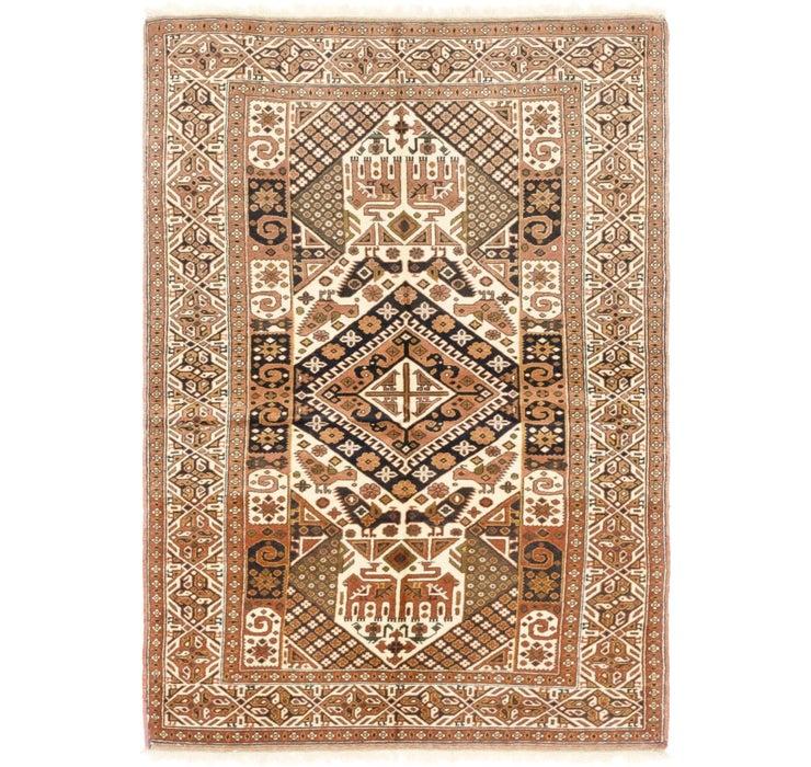 122cm x 183cm Ghoochan Persian Rug