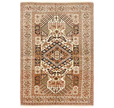 Image of 4' x 6' Ghoochan Persian Rug