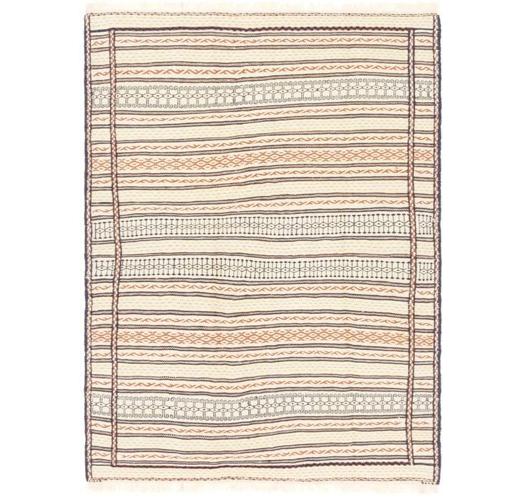 4' 10 x 6' 7 Ghoochan Persian Rug