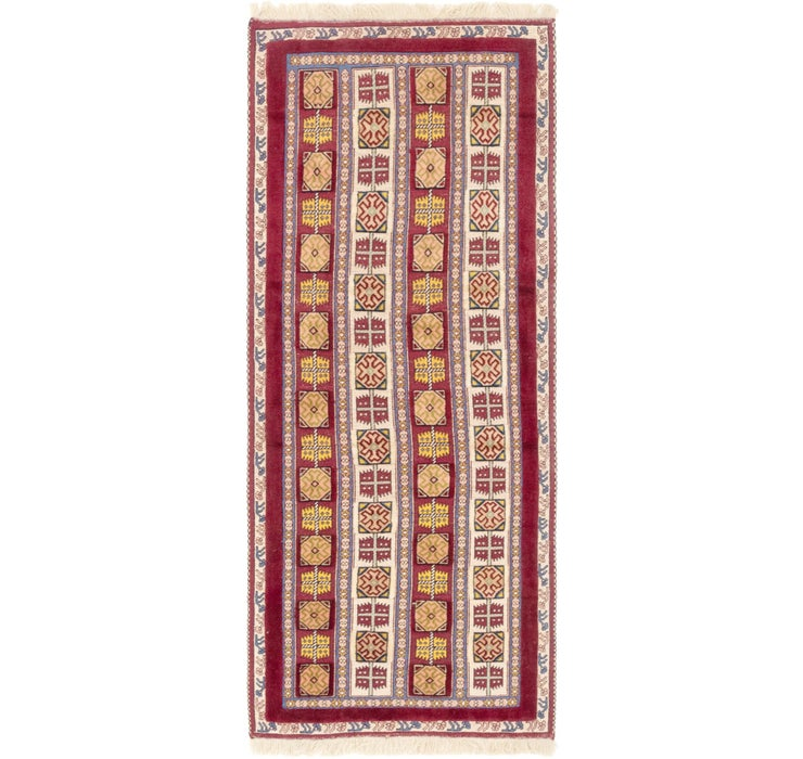 2' 9 x 7' Ghoochan Persian Runner...