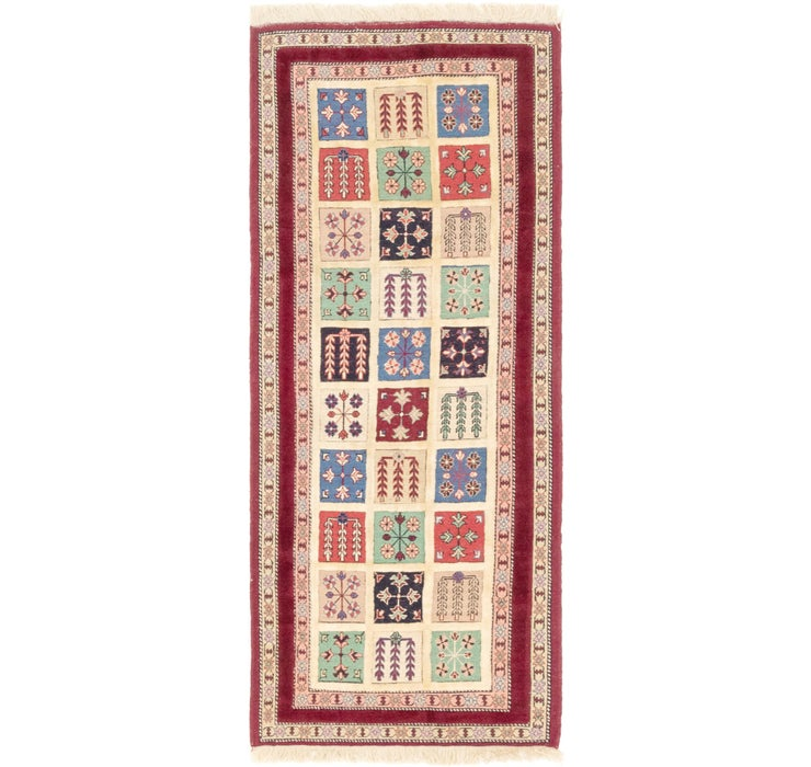 Image of 80cm x 198cm Ghoochan Persian Runner...