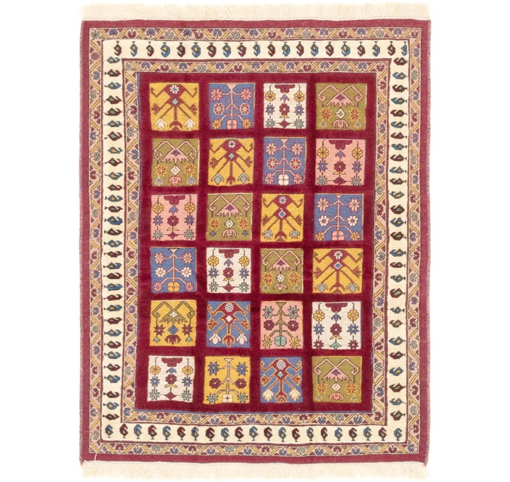 115cm x 147cm Ghoochan Persian Rug