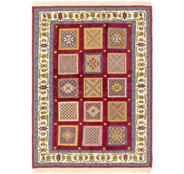 Image of 4' 2 x 6' Ghoochan Persian Rug
