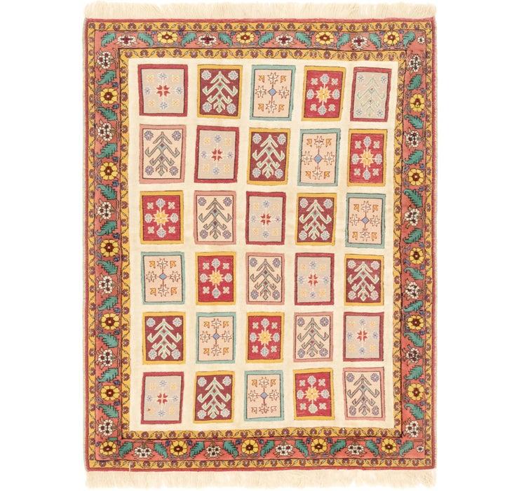 132cm x 183cm Ghoochan Persian Rug