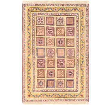 Image of 4' x 6' Ghoochan Persian Rug