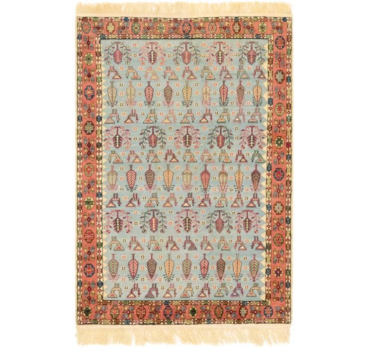 132cm x 208cm Ghoochan Persian Rug
