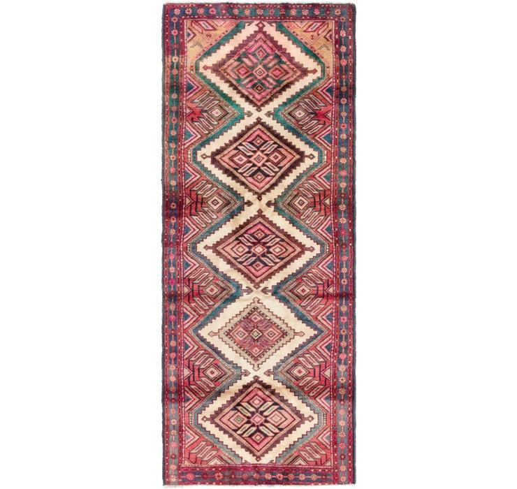 107cm x 282cm Chenar Persian Runner Rug