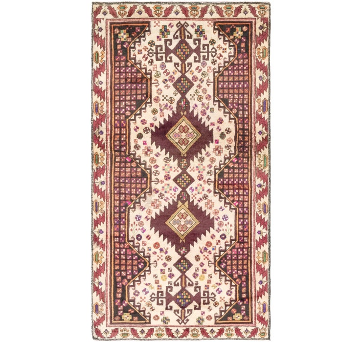 3' 2 x 6' Shiraz Persian Runner Rug