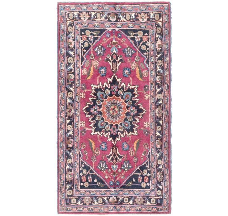 3' 7 x 7' Hamedan Persian Rug