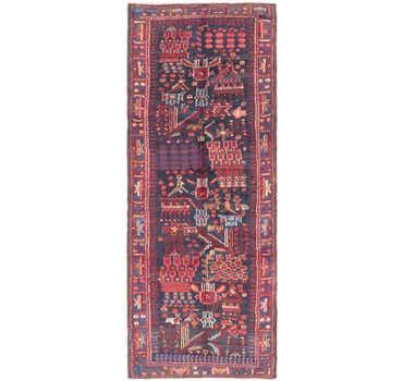 Image of 3' 7 x 9' 7 Roodbar Persian Runner ...