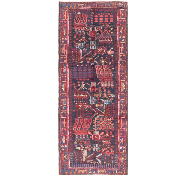 Image of 110cm x 292cm Roodbar Persian Runner ...
