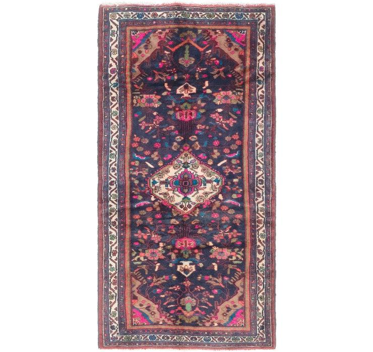 110cm x 230cm Hamedan Persian Rug