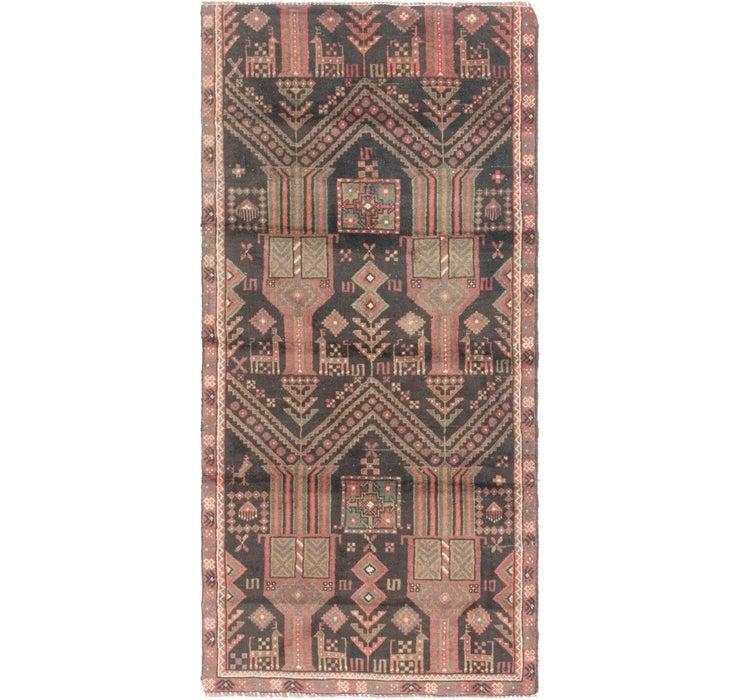Image of 2' 8 x 5' 9 Balouch Persian Rug