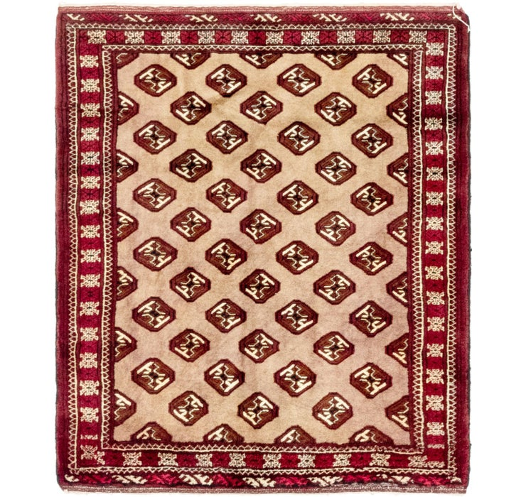 110cm x 127cm Balouch Persian Square ...