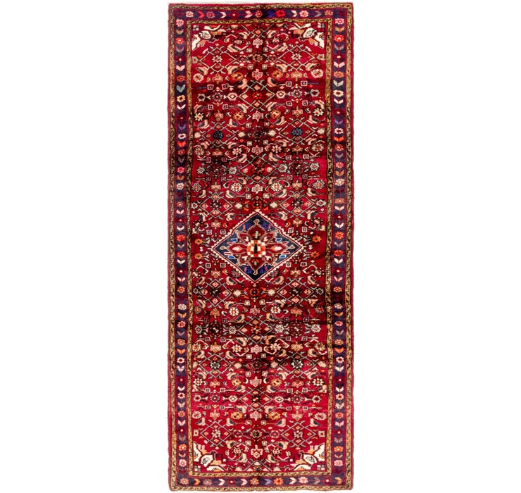 107cm x 297cm Hossainabad Persian Run...