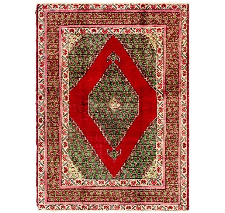 137cm x 188cm Tabriz Persian Rug