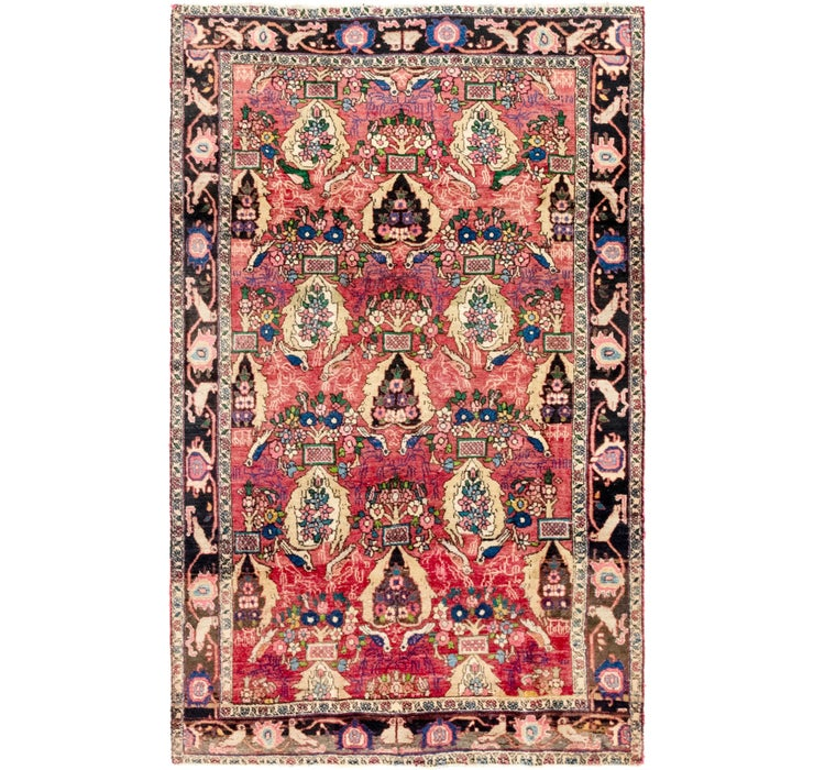 122cm x 198cm Gholtogh Persian Rug
